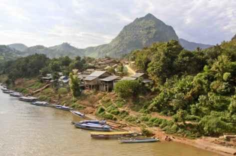 Au bord du Mékong - Laos -