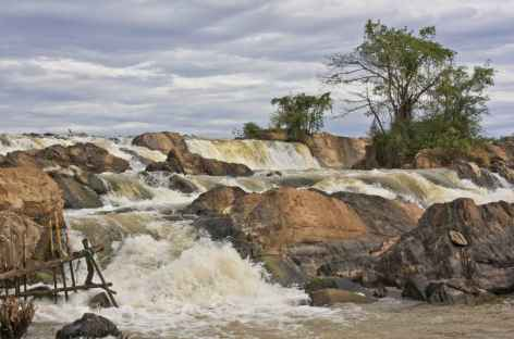 Les chutes du Mékong dans les 4000 îles - Cambodge -