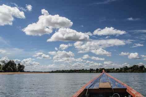 Navigation sur le fleuve Sé San - Cambodge -