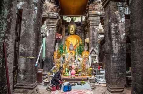 Sur le site angkorien de Vat Phu - Laos -