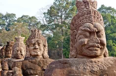 Sculptures à Angkor - Cambodge -
