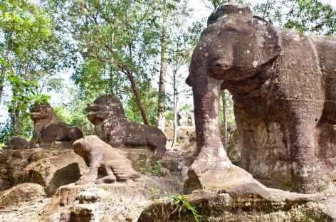 Balade sur la colline Phnom Kulen - Cambodge -