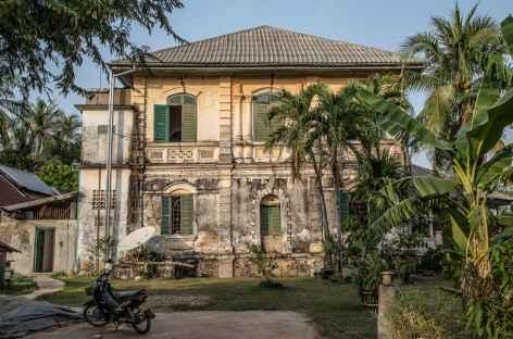 Villa coloniale à Champassak - Laos -