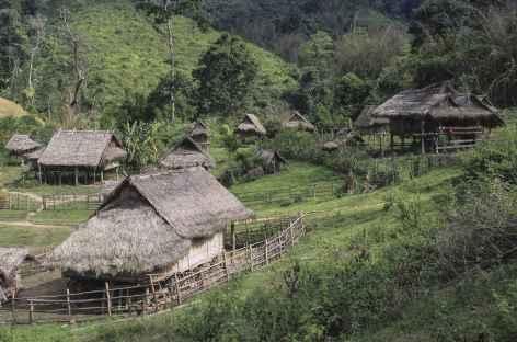 Arrivée au village de Ban Pang - Laos -