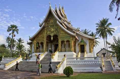 Le temple Vat Maï dans l'enceinte du palais royal de Luang Prabang - Laos -
