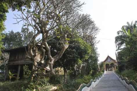 Visite d'un temple à Houey Xai - Laos -