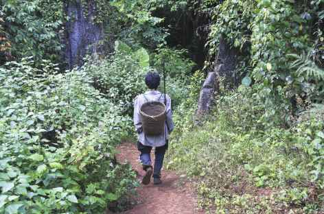Rencontre avec un Hmong - Laos -