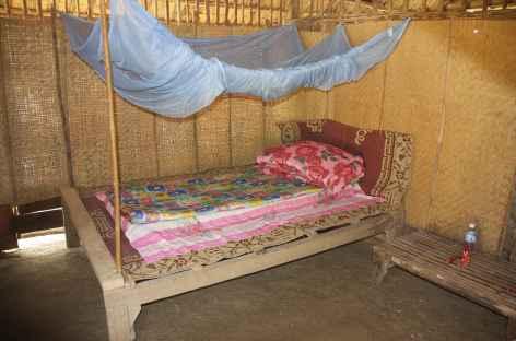Nuit spartiate chez l'habitant à Payang - Laos -