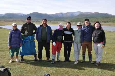 Chez une famille nomade - Mongolie -