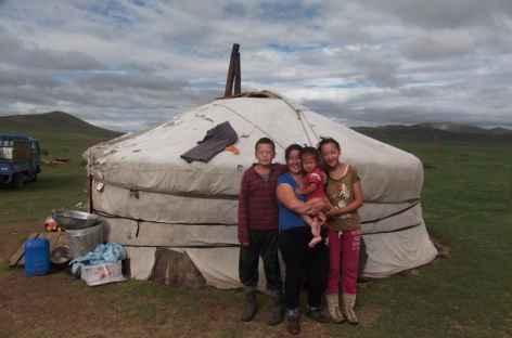 Famille nomade - Mongolie -