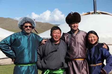 Rencontre avec une famille nomade, Mongolie -