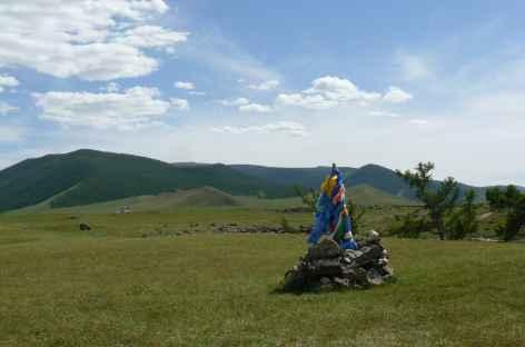 Steppe, Mongolie -