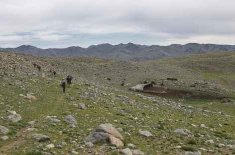 Camp des Chameliers - Mongolie  -