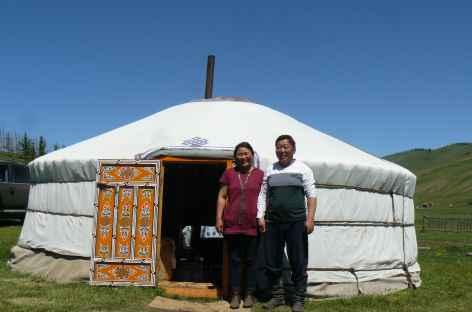 Yourte d'hôte, Mongolie -