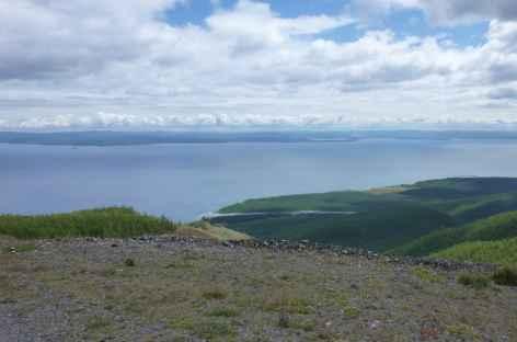 Rives du lac Khovsgol, Mongolie -
