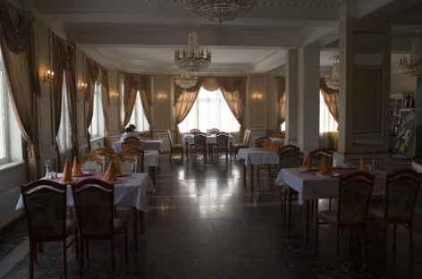 Salle de restaurant, Mongolie -
