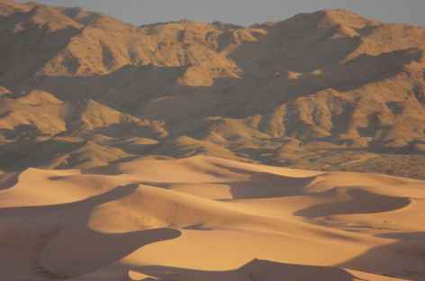Dunes chantantes du désert de Gobi, Mongolie -