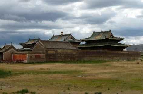 Monastère, Mongolie -