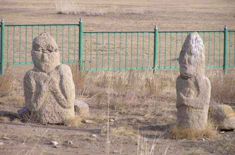 Pierre à cerf - Mongolie -