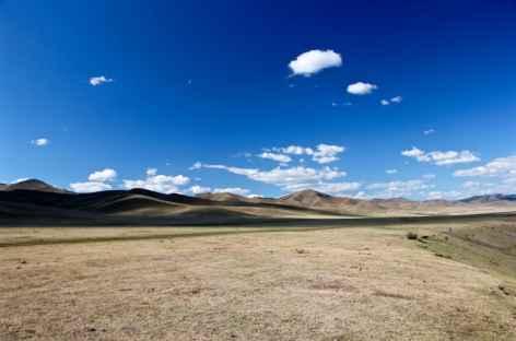 Paysage de steppe - Mongolie -