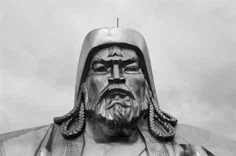 Statue de Gengis Khan - Mongolie -