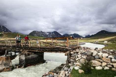 Traversée de rivière - Mongolie -