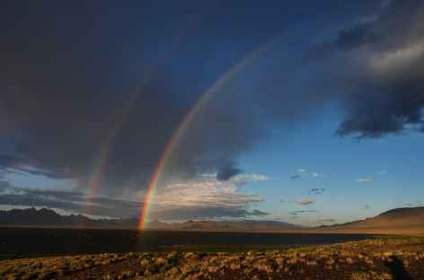 Arc-en-ciel, Massif du Tsambagarav - Mongolie -