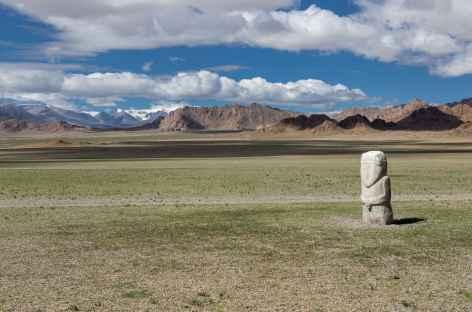 Statue de Türk Tujue - Mongolie -