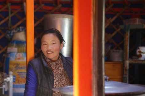 Rencontre sous la yourte - Mongolie -