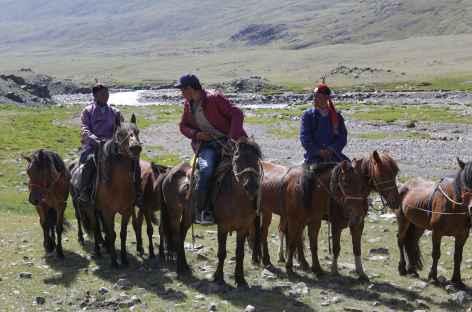 Cavaliers mongols - Mongolie -
