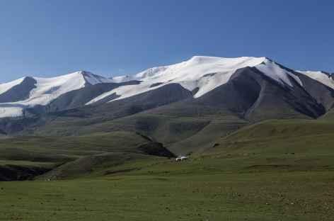 Chaîne glaciaire des Tsambagarav - Mongolie -