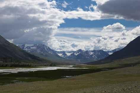 Paysage près d'Olgii - Mongolie -