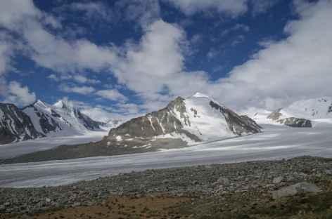 Glacier de Potanine - Mongolie -