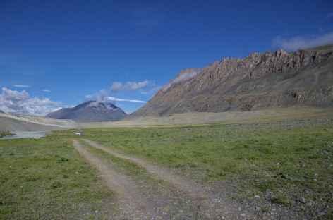 Sur la route d'Olgii - Mongolie -