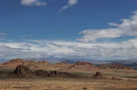 Massif granitique près d'Olgii - Mongolie -