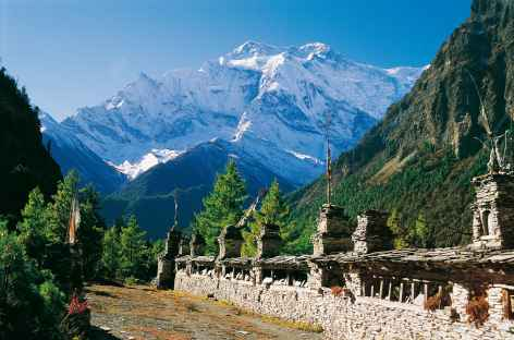 Entre Pisang et Manang-Népal -