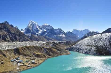 Ama Dablam depuis Gokyo peak (5280 m) - Nepal -