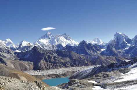 L'Everest depuis le Renjo la (5340 m) - Nepal -