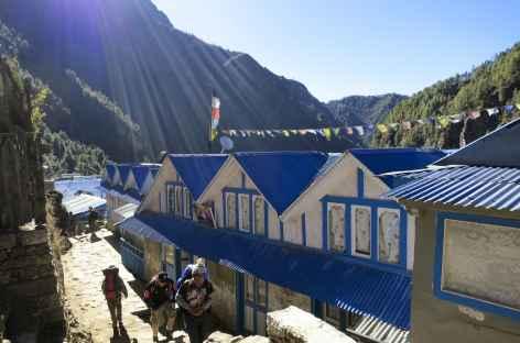 En montant vers Namche - Nepal -