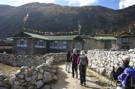 Village de Thame - Nepal -