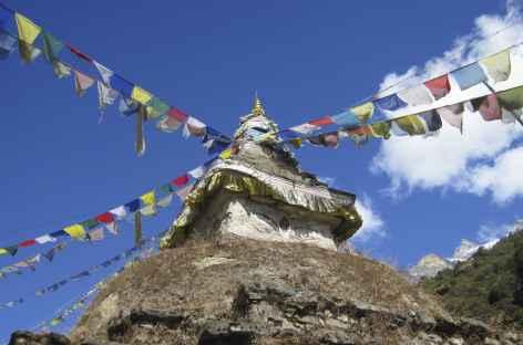 Petit Stupa sur le chemin - Nepal -