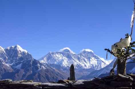 Panoramique sur l'Everest - Nepal -