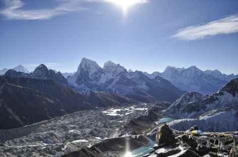 Depuis le Gokyo Peak - Nepal -