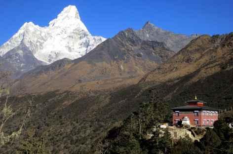 Monastère de Tengboche et Ama Dablam - Népal -