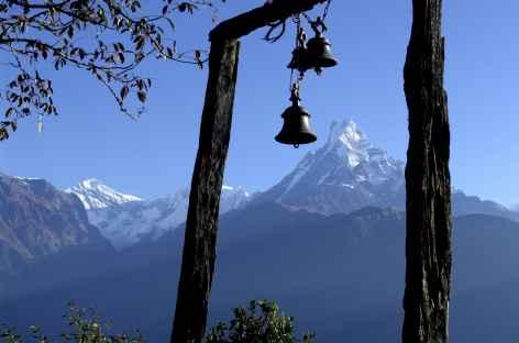 Vue sur le Machhapuchhare - Népal -