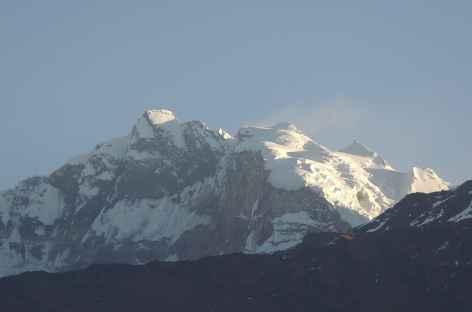 Lever de soleil sur L'Annapurna I - Népal -
