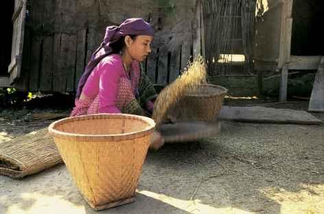 Travaux d'automne - Népal -