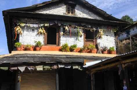 Maison traditionnelle - Népal -