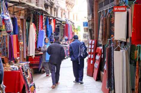 Dans les ruelles de Kathmandu -