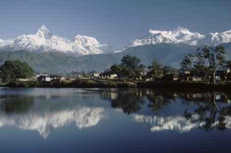 Lac de Pokhara - Népal -